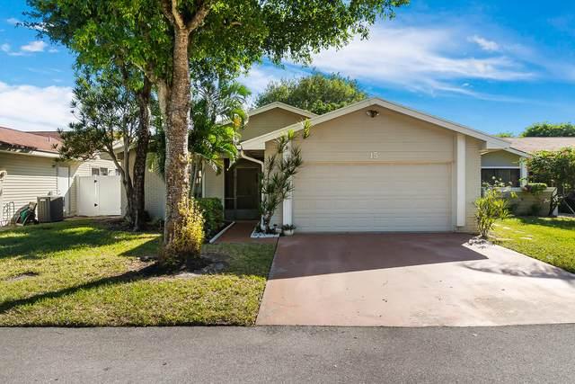15 Grange Place, Boynton Beach, FL 33426 (#RX-10754033) :: Posh Properties