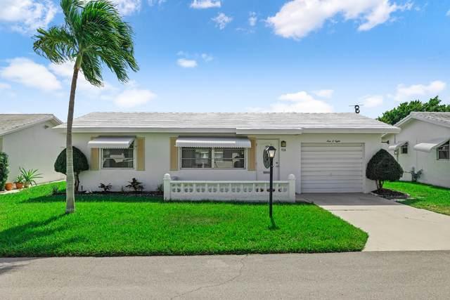 908 SW 5th Court, Boynton Beach, FL 33426 (#RX-10754037) :: Posh Properties