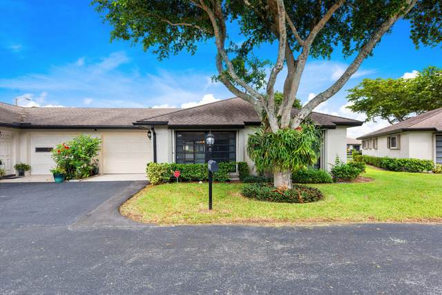 4826 Equestrian Circle B, Boynton Beach, FL 33436 (MLS #RX-10754077) :: The DJ & Lindsey Team