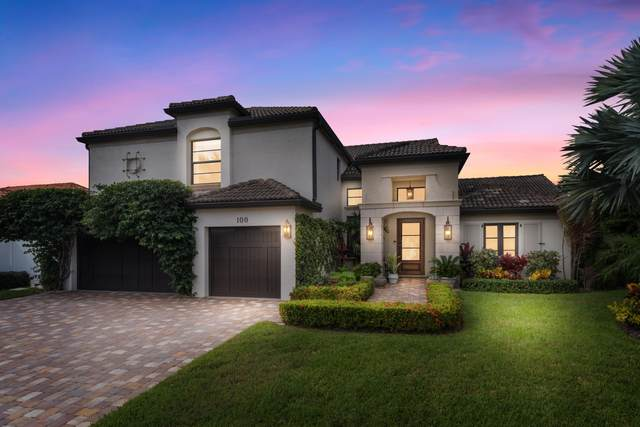 100 Olympus Way, Jupiter, FL 33477 (MLS #RX-10754126) :: Berkshire Hathaway HomeServices EWM Realty
