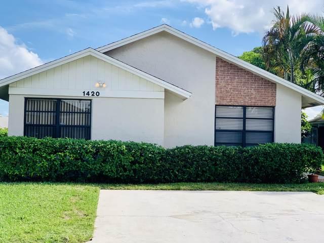 1420 Longarzo Place, West Palm Beach, FL 33415 (MLS #RX-10754157) :: The Teri Arbogast Team at Keller Williams Partners SW