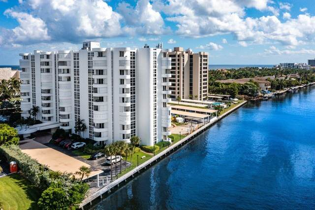 2200 S Ocean Boulevard #606, Delray Beach, FL 33483 (#RX-10754161) :: IvaniaHomes   Keller Williams Reserve Palm Beach