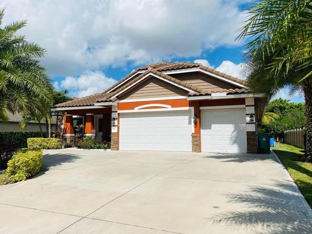 965 SW General Patton Terrace, Port Saint Lucie, FL 34953 (#RX-10754341) :: Michael Kaufman Real Estate