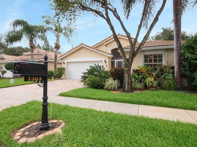 7363 Modena Drive, Boynton Beach, FL 33437 (MLS #RX-10754424) :: The Paiz Group