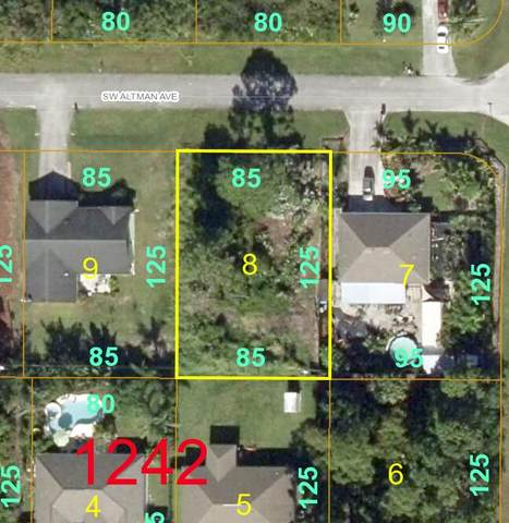 2032 SW Altman Avenue, Port Saint Lucie, FL 34983 (MLS #RX-10754532) :: THE BANNON GROUP at RE/MAX CONSULTANTS REALTY I