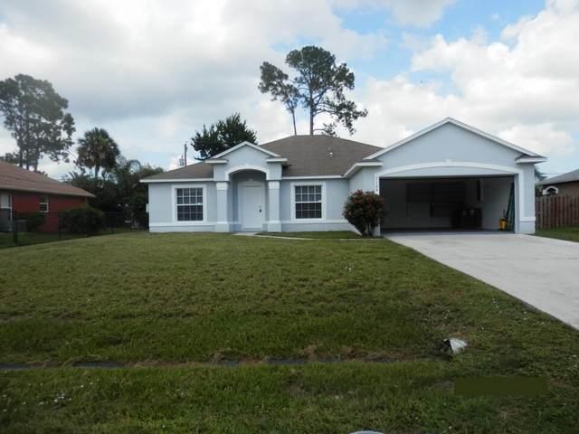 1125 SW Bellevue Avenue, Port Saint Lucie, FL 34953 (MLS #RX-10754543) :: The Paiz Group