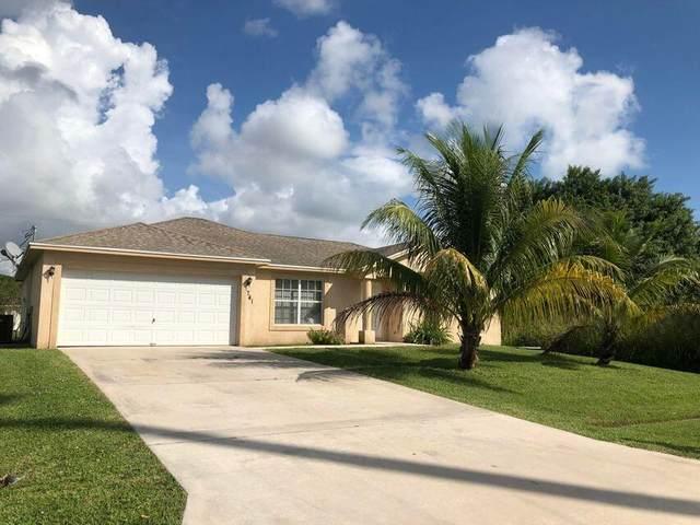 741 SW Swan Avenue, Port Saint Lucie, FL 34983 (#RX-10754796) :: Baron Real Estate