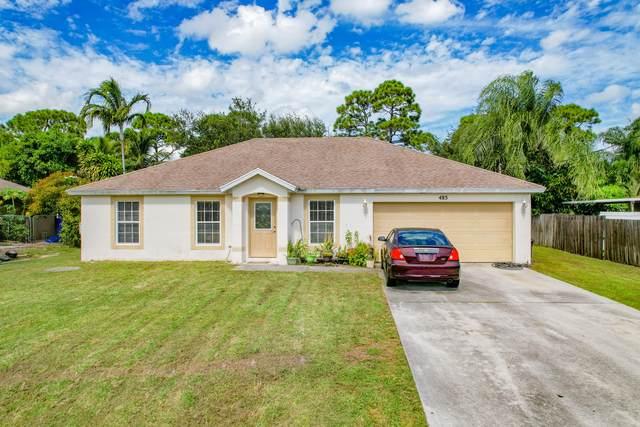 485 SE Voltair Terrace, Port Saint Lucie, FL 34983 (#RX-10754905) :: Baron Real Estate