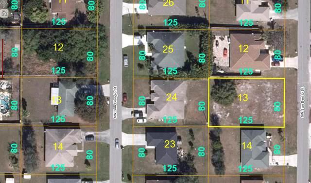 3538 SW San Benito Street, Port Saint Lucie, FL 34953 (MLS #RX-10754952) :: Castelli Real Estate Services