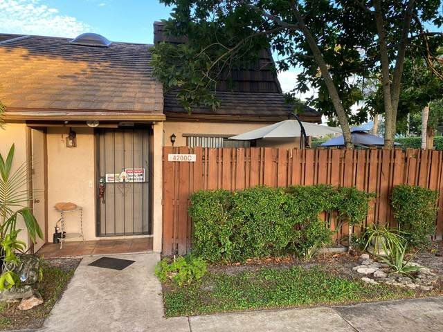 4200 Palm Bay C Circle C, West Palm Beach, FL 33406 (#RX-10755068) :: Michael Kaufman Real Estate