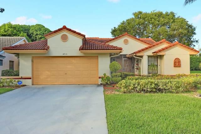 4715 Sextant Circle, Boynton Beach, FL 33436 (MLS #RX-10755208) :: Adam Docktor Group