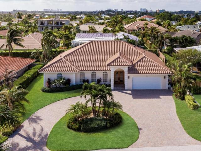 450 N Lyra Circle, Juno Beach, FL 33408 (#RX-10373279) :: The Carl Rizzuto Sales Team