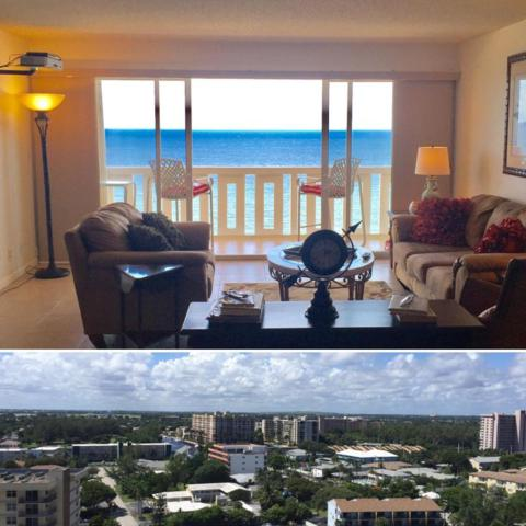 1012 N Ocean Boulevard #1504, Pompano Beach, FL 33062 (MLS #RX-10375539) :: Castelli Real Estate Services