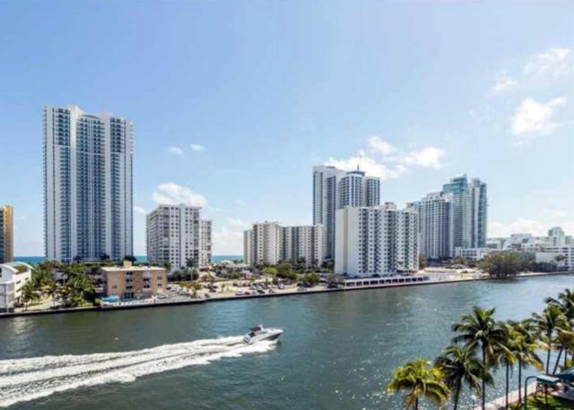 1000 Parkview Drive #720, Hallandale Beach, FL 33009 (MLS #RX-10379103) :: Castelli Real Estate Services