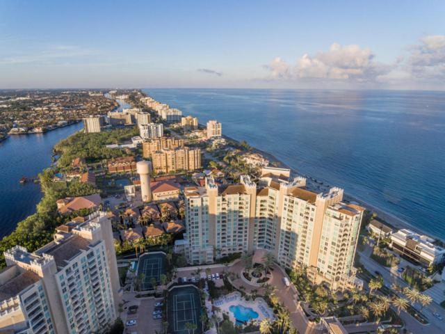 3700 S Ocean Boulevard #607, Highland Beach, FL 33487 (#RX-10393021) :: Ryan Jennings Group