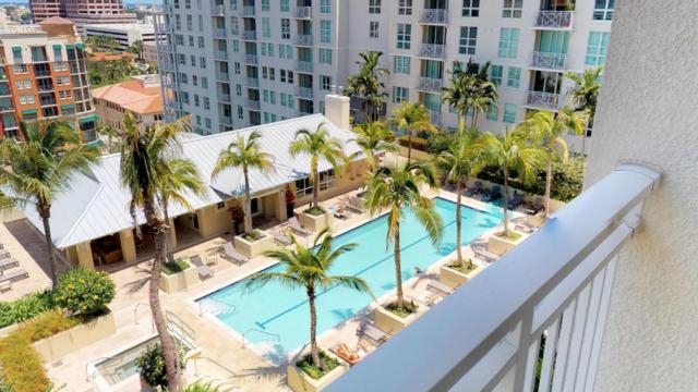 480 Hibiscus Street #812, West Palm Beach, FL 33401 (#RX-10393689) :: Ryan Jennings Group