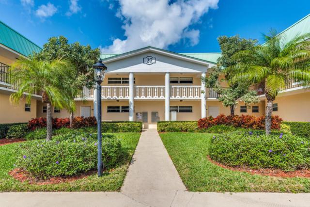 27 Colonial Club Drive #201, Boynton Beach, FL 33435 (#RX-10398080) :: Ryan Jennings Group