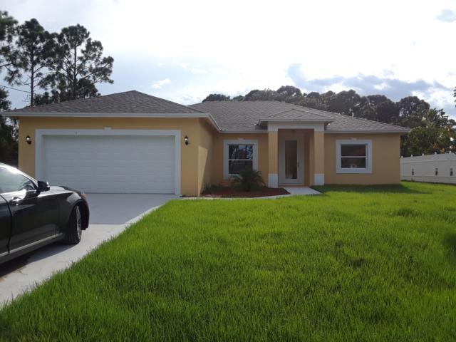2014 SW Idaho Lane, Port Saint Lucie, FL 34953 (#RX-10462997) :: Ryan Jennings Group