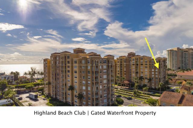 3606 S Ocean Boulevard #707, Highland Beach, FL 33487 (MLS #RX-10479268) :: Castelli Real Estate Services