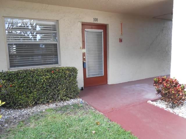24 Abbey Lane #108, Delray Beach, FL 33446 (#RX-10515187) :: Ryan Jennings Group
