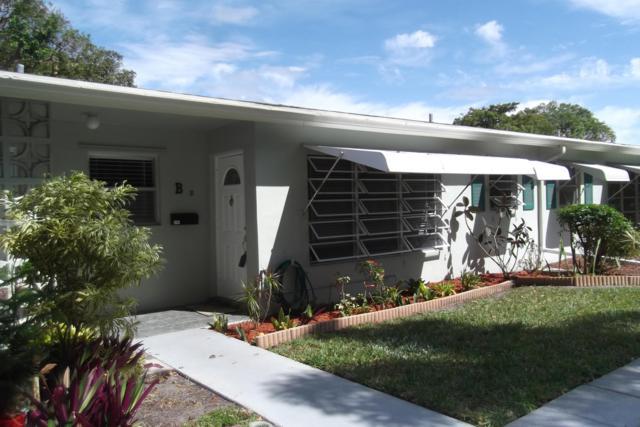 405 High Point Boulevard B, Delray Beach, FL 33445 (MLS #RX-10516000) :: Berkshire Hathaway HomeServices EWM Realty