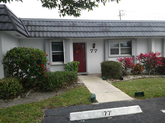 2886 Fernley Drive E #77, West Palm Beach, FL 33415 (#RX-10519958) :: Weichert, Realtors® - True Quality Service