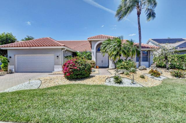 7695 Bridlington Drive, Boynton Beach, FL 33472 (MLS #RX-10521982) :: EWM Realty International