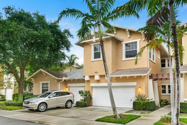 809 Marina Del Ray Lane #2, West Palm Beach, FL 33401 (MLS #RX-10527689) :: Berkshire Hathaway HomeServices EWM Realty