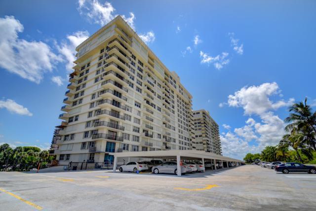 2121 N Ocean Boulevard 808E, Boca Raton, FL 33431 (MLS #RX-10533101) :: Berkshire Hathaway HomeServices EWM Realty