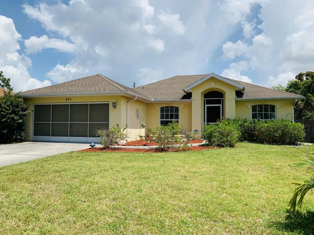 643 SW Ray Avenue, Port Saint Lucie, FL 34983 (#RX-10535106) :: Ryan Jennings Group