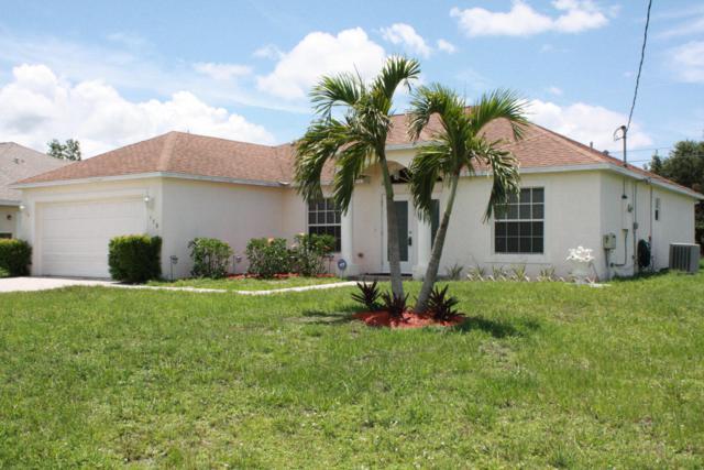 578 SW Halkell Avenue, Port Saint Lucie, FL 34953 (#RX-10540591) :: Weichert, Realtors® - True Quality Service