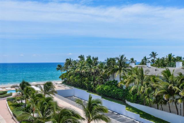 2295 S Ocean Boulevard #607, Palm Beach, FL 33480 (#RX-10544753) :: The Rizzuto Woodman Team