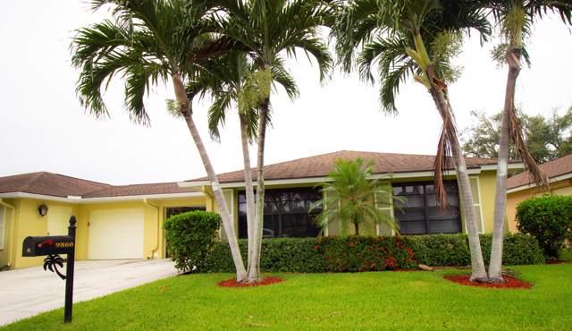 9860 Pecan Tree Drive B, Boynton Beach, FL 33436 (#RX-10546910) :: Ryan Jennings Group