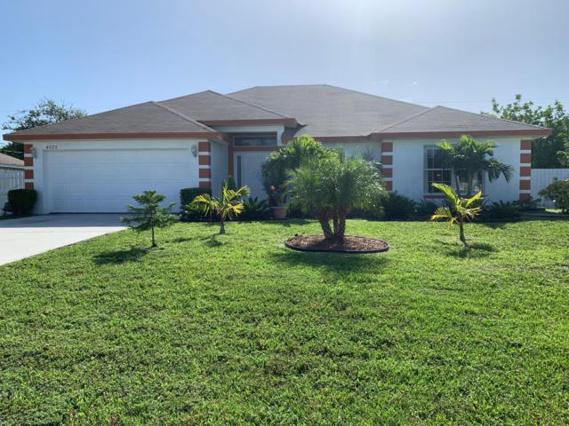 4022 SW Alice Street, Port Saint Lucie, FL 34953 (MLS #RX-10547207) :: Berkshire Hathaway HomeServices EWM Realty
