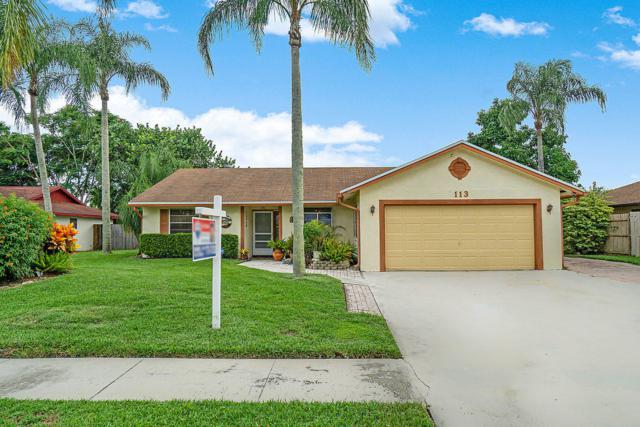 113 Prado Street, Royal Palm Beach, FL 33411 (MLS #RX-10548263) :: Laurie Finkelstein Reader Team