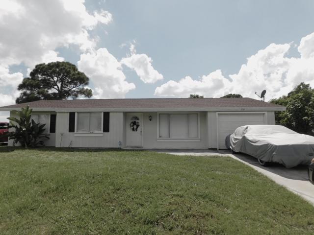 374 SW Cherryhill Road, Port Saint Lucie, FL 34953 (#RX-10549160) :: Weichert, Realtors® - True Quality Service