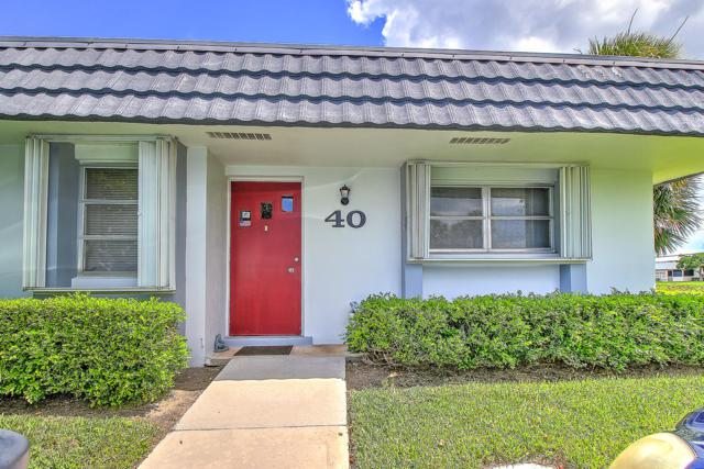 2886 Fernley Drive E #40, West Palm Beach, FL 33415 (#RX-10550272) :: Weichert, Realtors® - True Quality Service