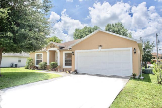 1226 SW Asturia Avenue, Saint Lucie West, FL 34953 (#RX-10550647) :: Ryan Jennings Group