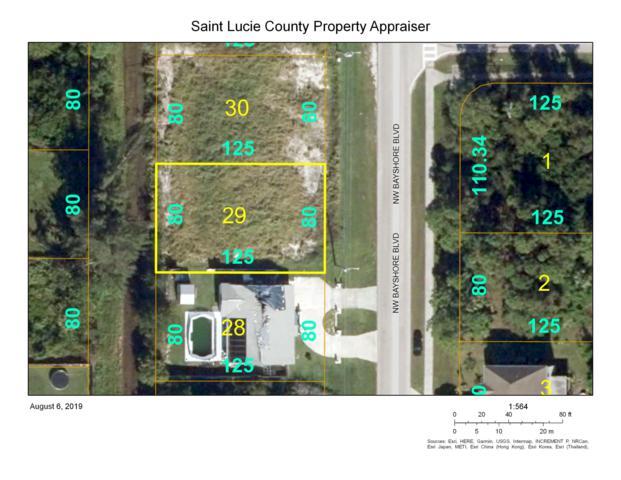 268 NW Bayshore Boulevard, Port Saint Lucie, FL 34983 (#RX-10552200) :: Ryan Jennings Group