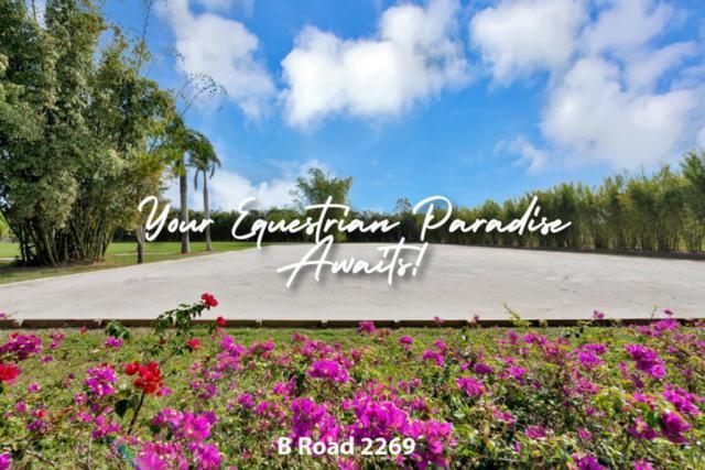 2379+2269 B Road, Loxahatchee Groves, FL 33470 (#RX-10552826) :: Weichert, Realtors® - True Quality Service