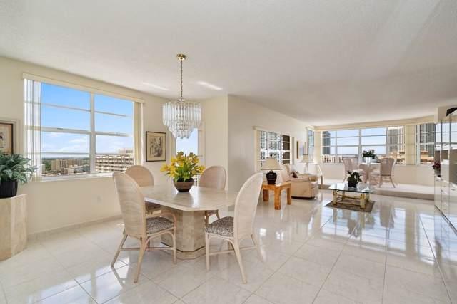 1980 S Ocean Drive 20P, Hallandale Beach, FL 33009 (MLS #RX-10556111) :: Castelli Real Estate Services