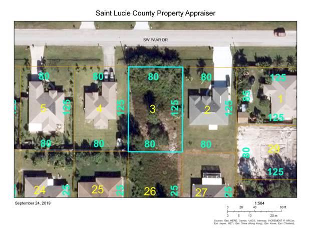 450 SW Paar Drive, Port Saint Lucie, FL 34953 (#RX-10560000) :: Ryan Jennings Group