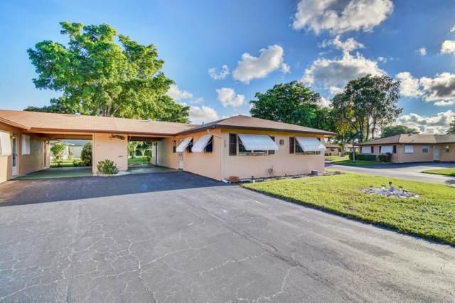 718 Whippoorwill Lane, Delray Beach, FL 33445 (#RX-10564911) :: Ryan Jennings Group