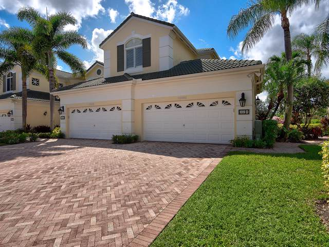 109 Palm Point Circle D, Palm Beach Gardens, FL 33418 (MLS #RX-10566331) :: The Jack Coden Group