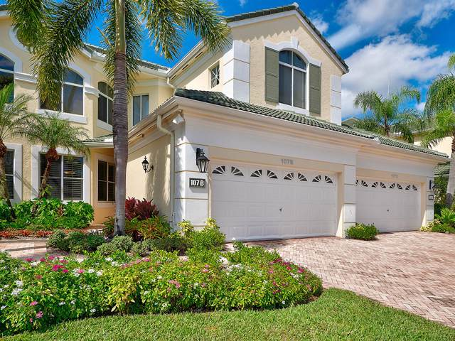 107 Palm Point Circle B, Palm Beach Gardens, FL 33418 (MLS #RX-10567352) :: The Jack Coden Group
