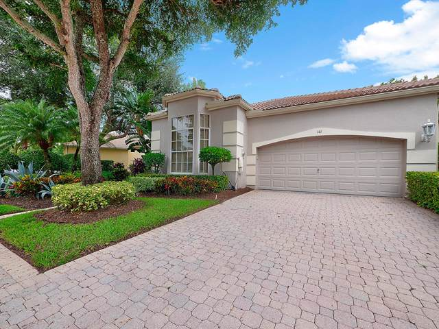 141 Sunset Bay Drive, Palm Beach Gardens, FL 33418 (MLS #RX-10567353) :: The Jack Coden Group