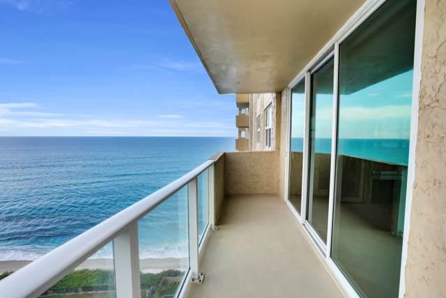 5440 N Ocean Drive #1502, Riviera Beach, FL 33404 (#RX-10567669) :: Ryan Jennings Group