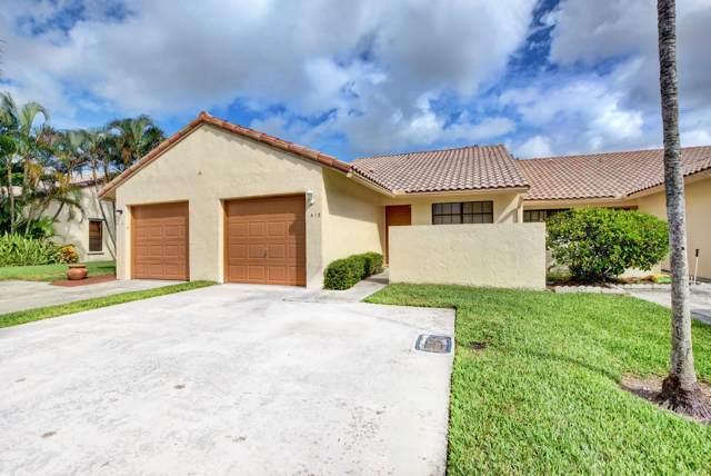 415 Cottonwood Place, Boca Raton, FL 33431 (MLS #RX-10569310) :: Best Florida Houses of RE/MAX