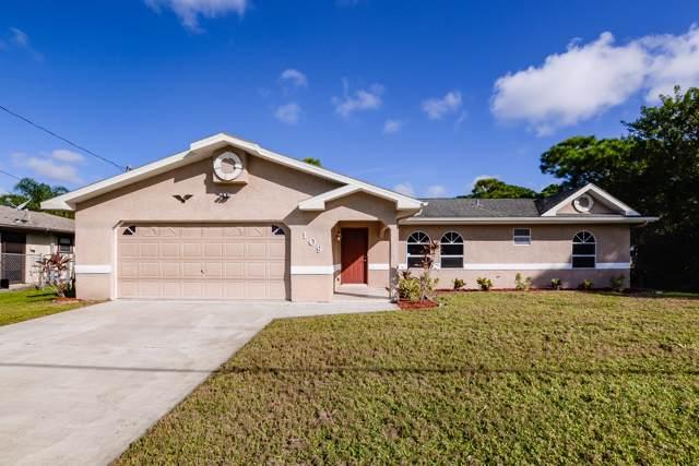 109 SW Todd Avenue, Port Saint Lucie, FL 34953 (MLS #RX-10573793) :: Laurie Finkelstein Reader Team