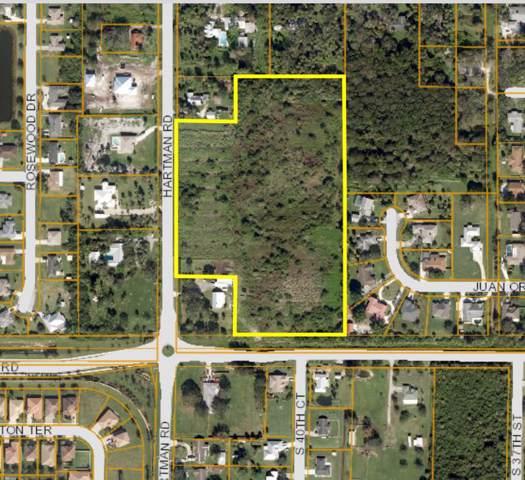 Tbd Hartman Road, Fort Pierce, FL 34982 (#RX-10574625) :: Ryan Jennings Group